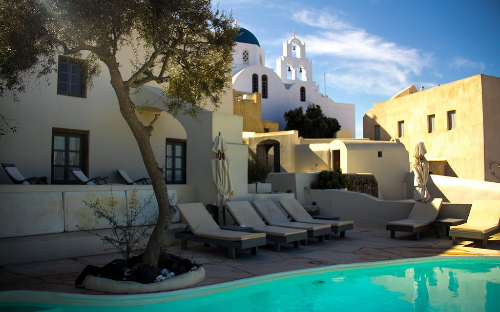 Zannos Melathron hotel, Santorini – Greece