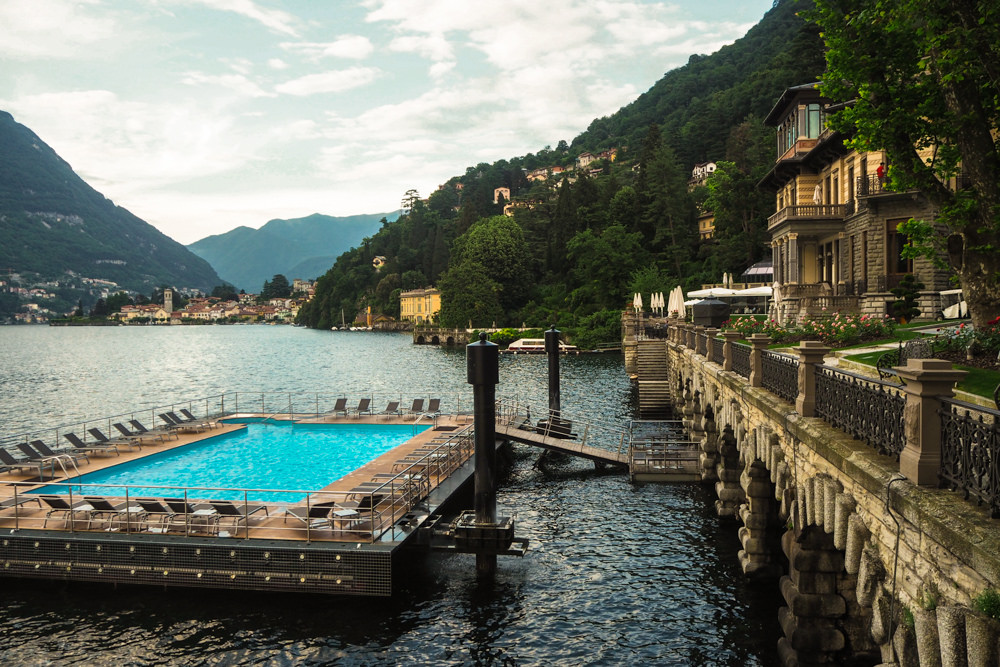 Castadiva resort spa lake como italy strawberry - Casta diva lake como italy ...